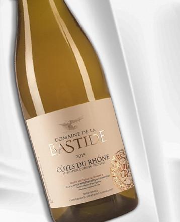 Côtes du Rhône blanc 2015 - Domaine de la Bastide