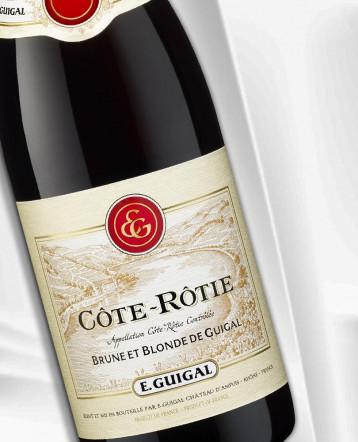 Côte-Rôtie Brune et Blonde rouge 2018 - E.Guigal