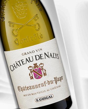 """Chateauneuf-du-Pape """"Grand Vin"""" Château de Nalys blanc 2018 - E.Guigal"""