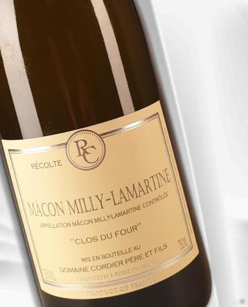 """Macon Milly-Lamartine """"Clos du Four"""" blanc 2020 - Domaine Cordier"""