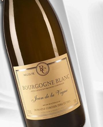 """Bourgogne Chardonnay """" Jean de La Vigne"""" blanc 2019 - Domaine Cordier"""