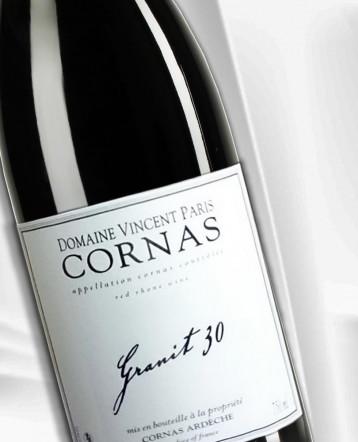 Cornas Granit 30 rouge 2019 - Domaine Vincent Paris