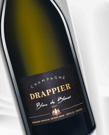 Champagne Blanc de Blancs brut - Champagne Drappier