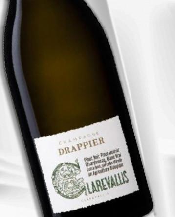Champagne Clarevallis brut Bio - Champagne Drappier