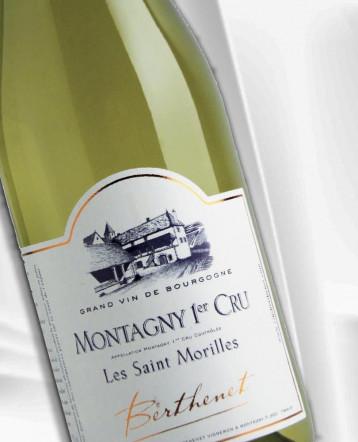 Montagny 1er Cru Les Saint Morilles blanc 2019 - Domaine Berthenet