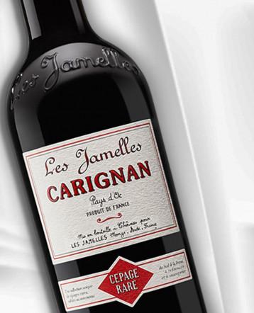 Carignan rouge 2020 - Les Jamelles