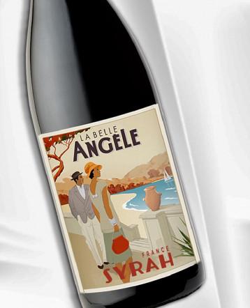 Syrah rouge 2019 - La Belle Angèle
