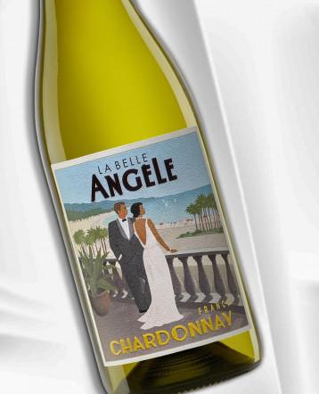 Chardonnay blanc 2020 - La Belle Angèle