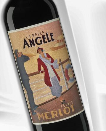 Merlot rouge 2019 - La Belle Angèle