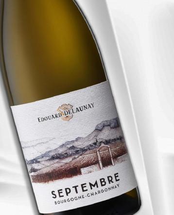 """Bourgogne Chardonnay """"Septembre"""" blanc 2020 - Edouard Delaunay"""