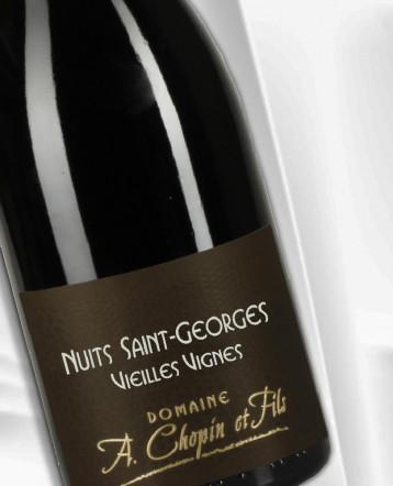 Nuits Saint Georges Vieilles Vignes rouge 2019 - Domaine Chopin