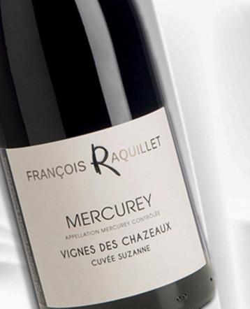 Mercurey Vignes des Chazeaux Cuvée Suzanne rouge 2018 - Domaine François Raquillet