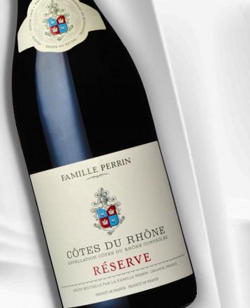 Côtes du Rhône Réserve Rouge 2019 - Famille Perrin