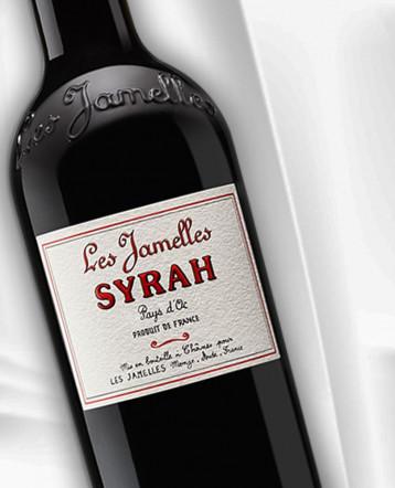 Syrah rouge 2020 - Les Jamelles