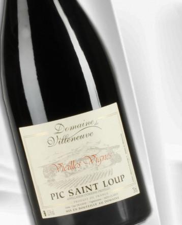 Pic Saint Loup Vieilles Vignes rouge 2019 - Domaine de Villeneuve