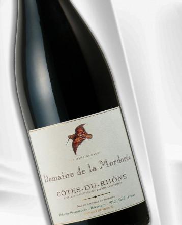 """Côtes du Rhône """"la Dame rousse """" rouge 2020 - Domaine de la Mordorée"""