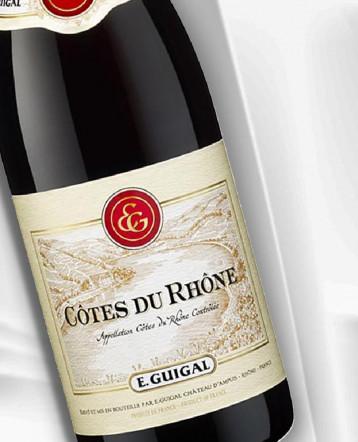 Côtes du Rhône rouge 2018 - E.Guigal