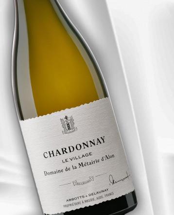 """""""Le Village"""" Chardonnay blanc 2020 - Domaine de la Métairie d'Alon"""