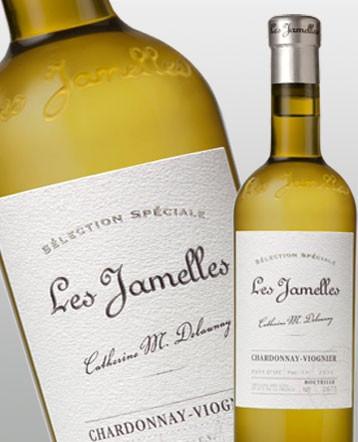 """Chardonnay-Viognier blanc 2018 - Les Jamelles """"Sélection Spéciale"""""""