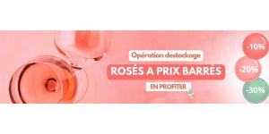Destockage Rosés